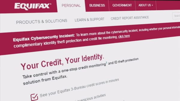 Monitoring Equifax 2017 Security