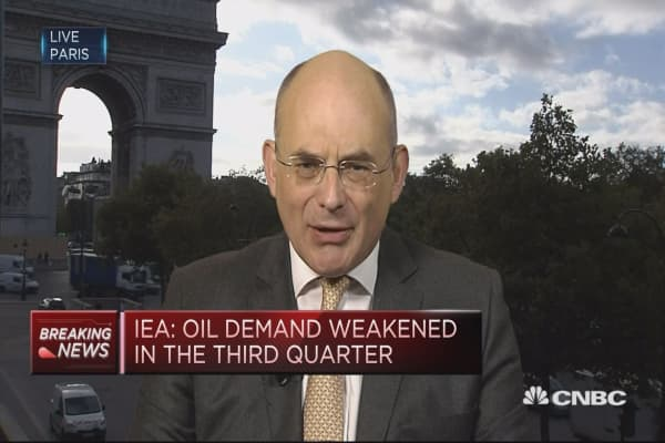 IEA: Oil demand growth remains very robust