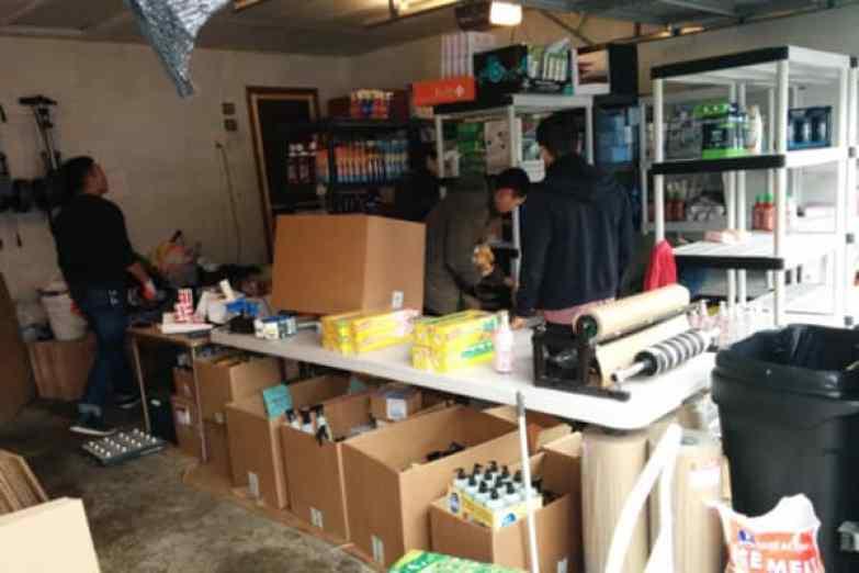 Boxed comenzó en el garaje de los padres del CEO Chieh Huang.