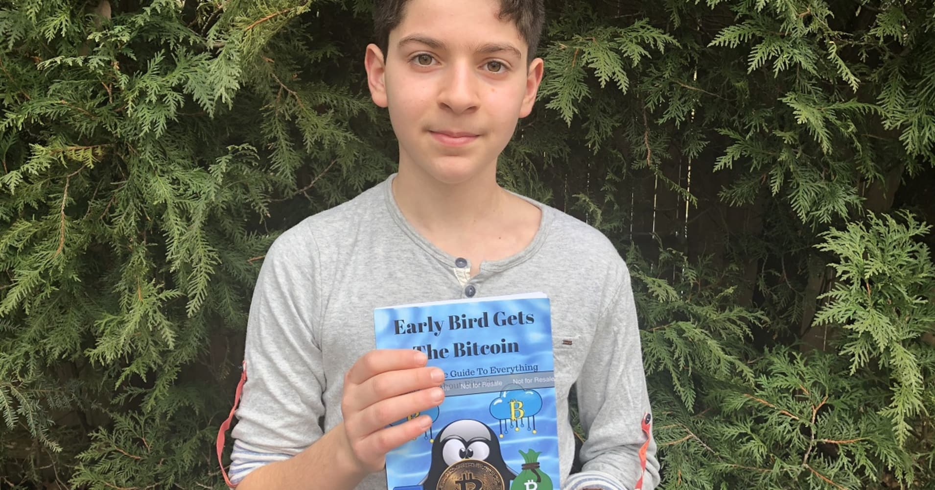 11 Year Old Andrew Courey Wrote A Book On Bitcoin