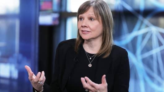 Mary Barra, CEO de General Motors