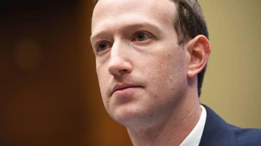 CEO de Facebook, Mark Zuckerberg