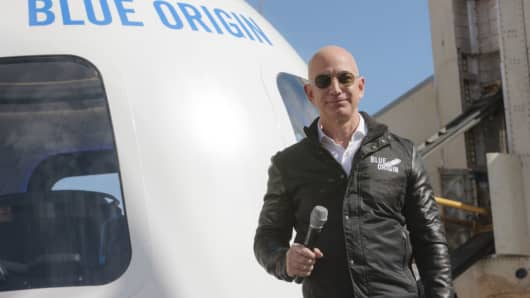 Image result for Jeff Bezos plans to charge at least $200,000 for space rides: sources