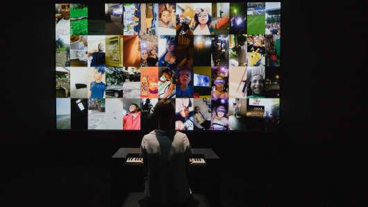 Snap and artist Christian Marclay created an organ where the sounds were made from of public Snapchats.