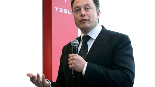 Elon Musk, co-founder and CEO of Tesla