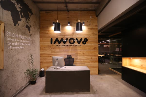 One of Innov8's co-working spaces in Delhi.