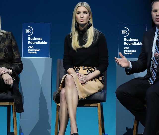 Watch Ivanka Trump Walmart Ceo Doug Mcmillon And Ibm Ceo Ginni Rometty Speak At Business Roundtable Summit
