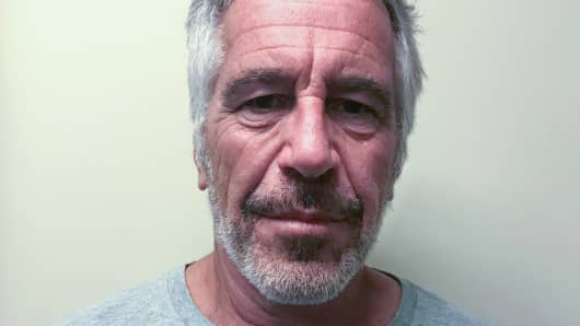 U.S. financier Jeffrey Epstein appears in a photograph taken for the New York State Division of Criminal Justice Services' sex offender registry March 28, 2017 and obtained by Reuters July 10, 2019. New York State Division of Criminal Justice Services/Handout via REUTERS.