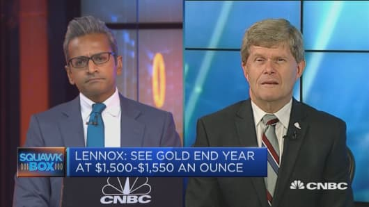 Fat Prophets sees gold at $1,500 to $1,550 by end-2019