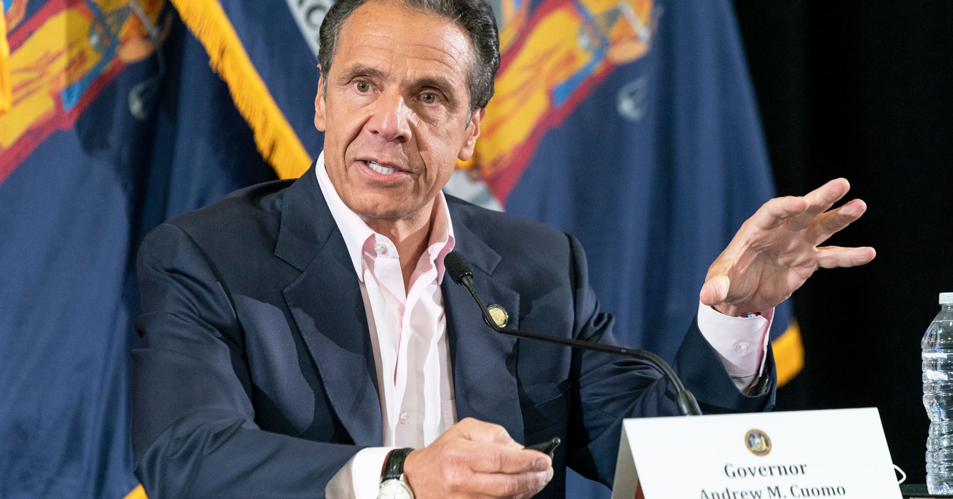 Watch live: NY Gov. Andrew Cuomo holds a press conference on the coronavirus amid national protests