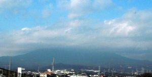 三島からみた富士