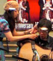 with Kaori-san