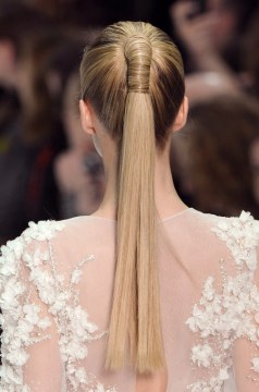 5. wrapped ponytail