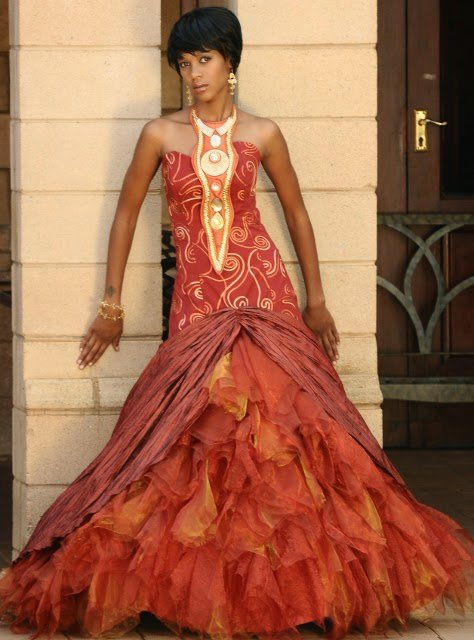 African wedding dress 20 outfits to wear for an african wedding junglespirit Images