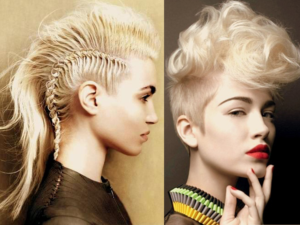 Mohawk Styles For Curly Hair: 20 Spectacular Mohawk Hairstyles For Any Hair Length