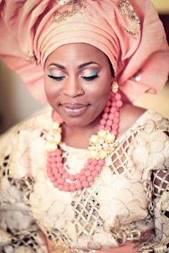 nigerian traditional wedding aso oke