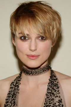 short layered hair keira knightley