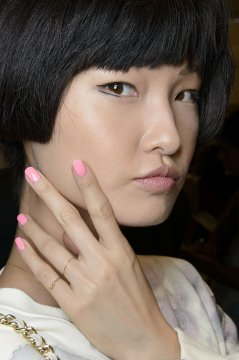 girlie and beautiful nail designs - Custo Barcelona