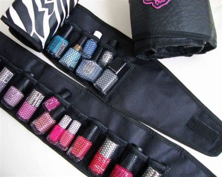 nail polish foldable storage solutionl