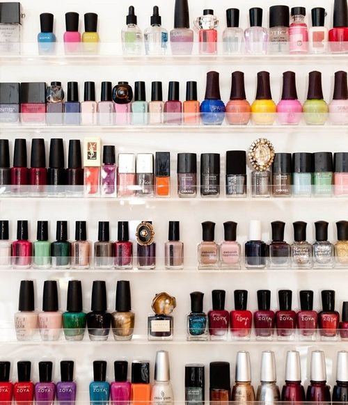 The Best Nail Polish Storage Ideas To Try Right Now