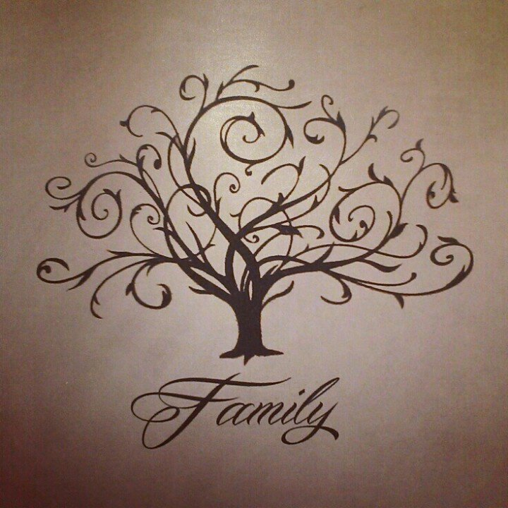 Family tree tattoos - Let your family know you love them