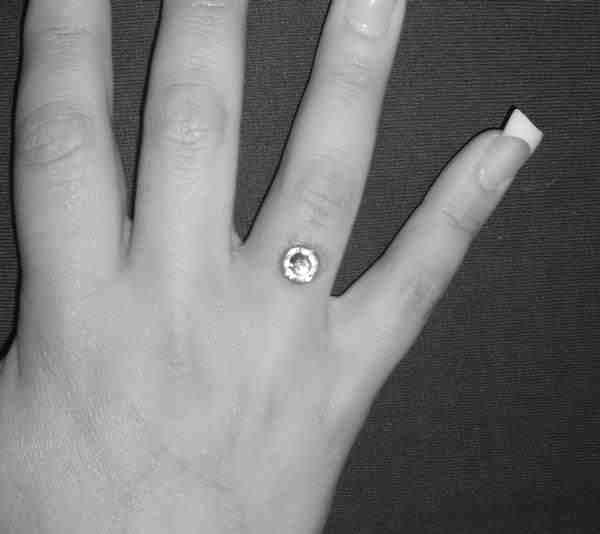 Finger Dermal Pierce
