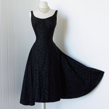 1950s Vintage Cocktail Dress
