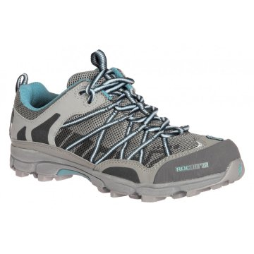 Gray with Blue details Trail Walking Shoe
