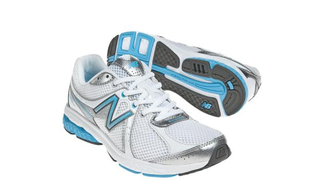Women's WW665 White with Blue and Gray Details for Women