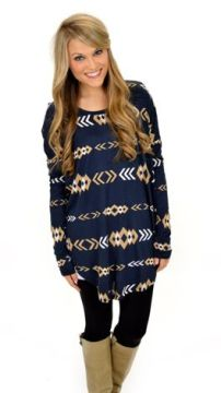 Tunic with leggings