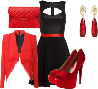 combination-of-clothes-fashion-accessorize-clothes-black-dress-red-accessories