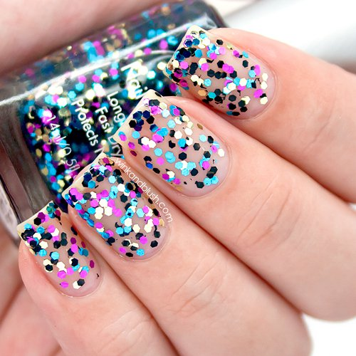 18 amazing nail designs ideas for birthday fmag bold confetti urmus Images