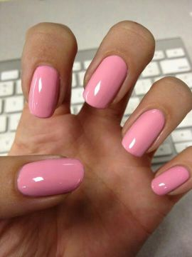 Squoval nail shape