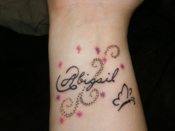 One word tattoos powerful and charming designs for Tattoos with hidden words