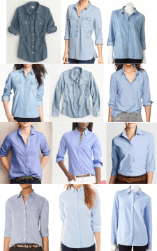 Chambray Casual Shirts