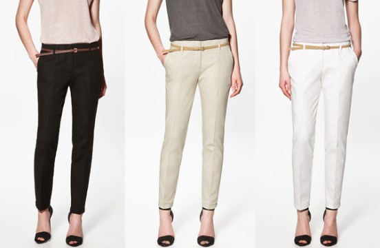 Casual Wear Cotton Pencil Pants