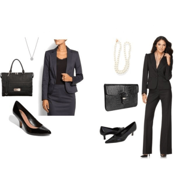 Formal Attire for Women with Accessories