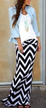 Stretchy jersey maxi skirt