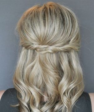 Twisted quick hairstyle