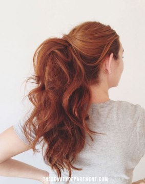 DIY Ponytail Hairstyle