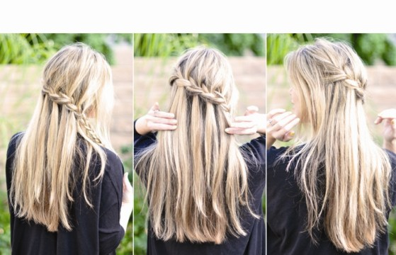Bohemian Waterfall Braid