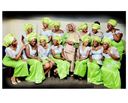 Aso Ebi Nigerian Wedding