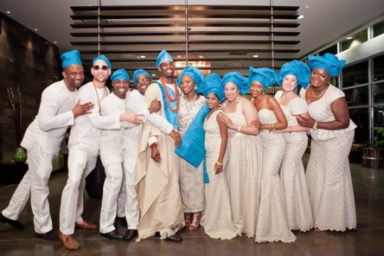 Aso Ebi Wedding Attire
