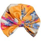 ETRO Bird Printed Silk Twill Turban
