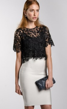Dressy Top with Pencil Skirt