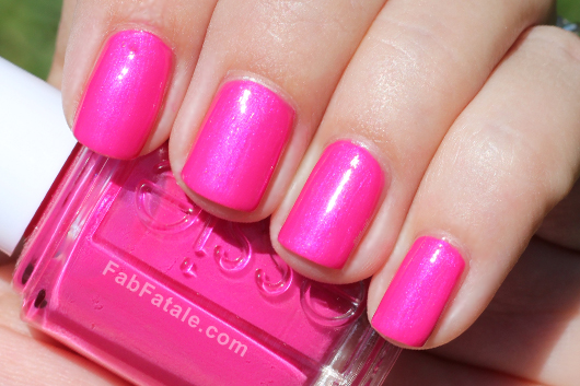 Hot Pink Wedding Nails