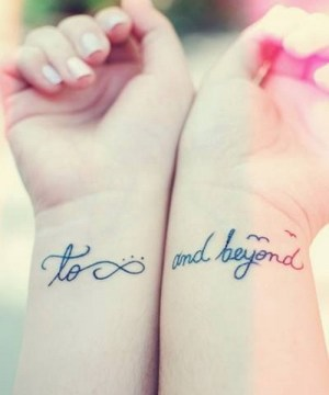 Infinity Meaningful Couple Tattoo