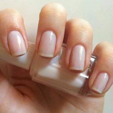 Sheer Wedding Nail Polish