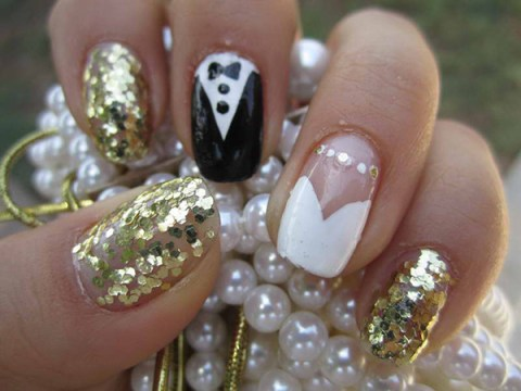 Best White Wedding Nails Ideas & Gels for Brides | FMag.com