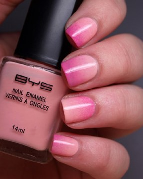 Ombre Pink French Manicure